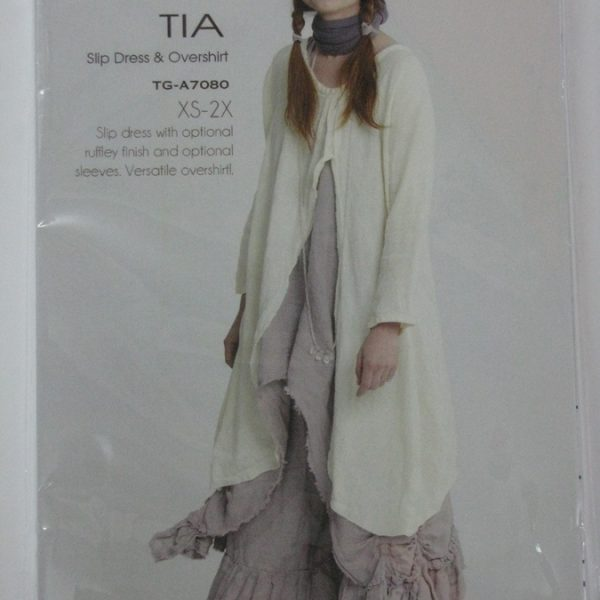 Tia Slip Dress & Overlay
